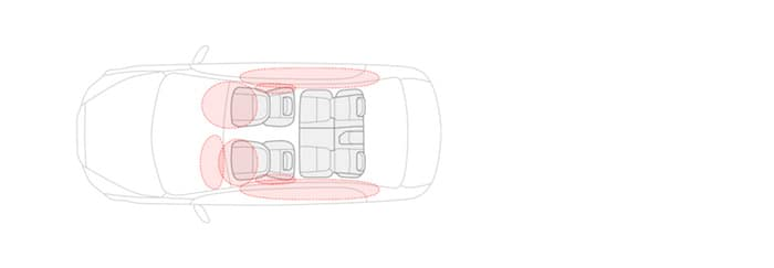 2019 Mitsubishi Mirage G4 7-Airbag Safety System