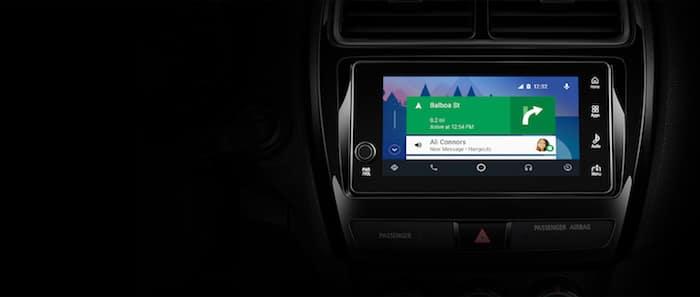 2019 Mitsubishi Mirage G4 Android Auto