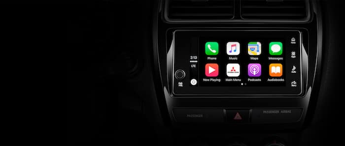 2019 Mitsubishi Mirage G4 Apple Carplay