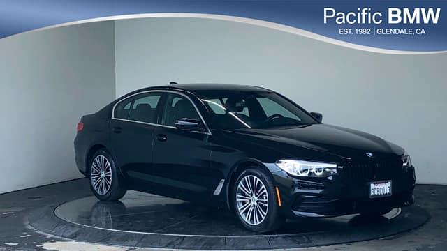Pre-Owned 2019 BMW 5 Series 530i Sedan RWD 4dr Car