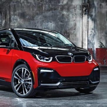 2019 BMW i3 In Parking Garage