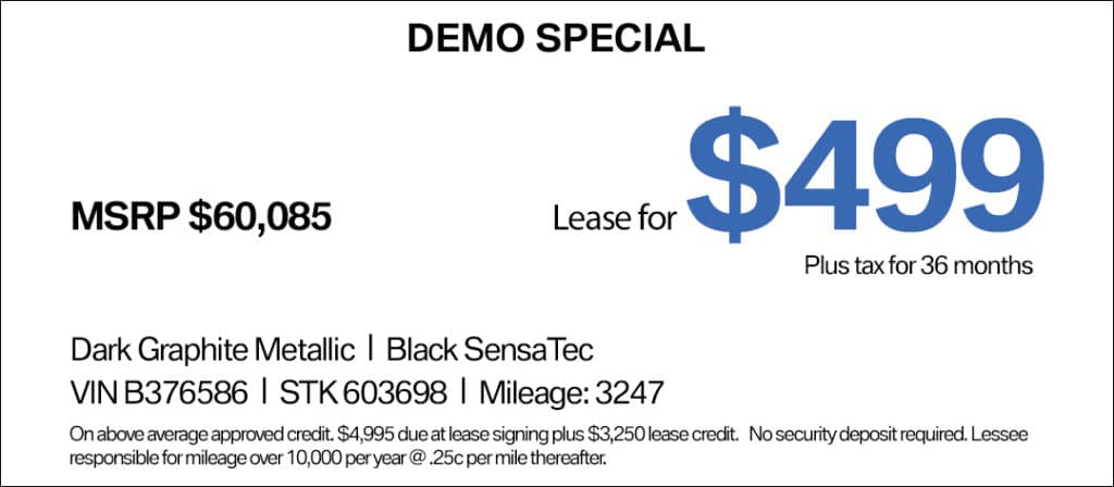 5 Series Lease Special