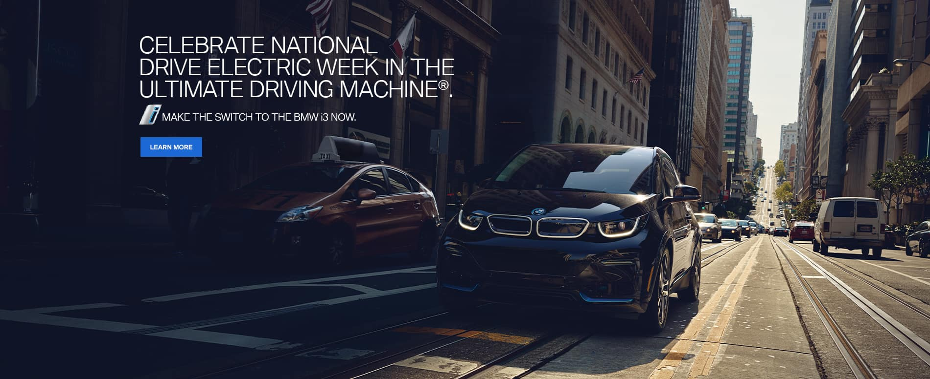 Celebrate National Drive Electric Week in the Ultimate Driving Machine