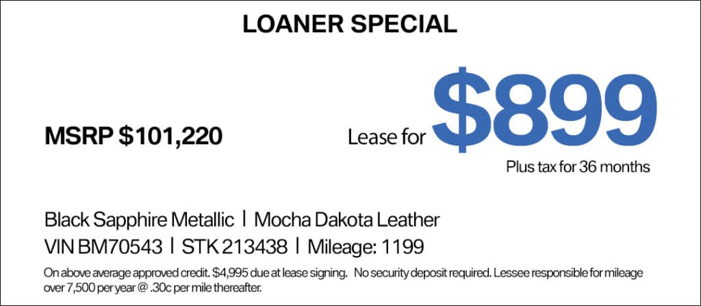 213438 Lease Special