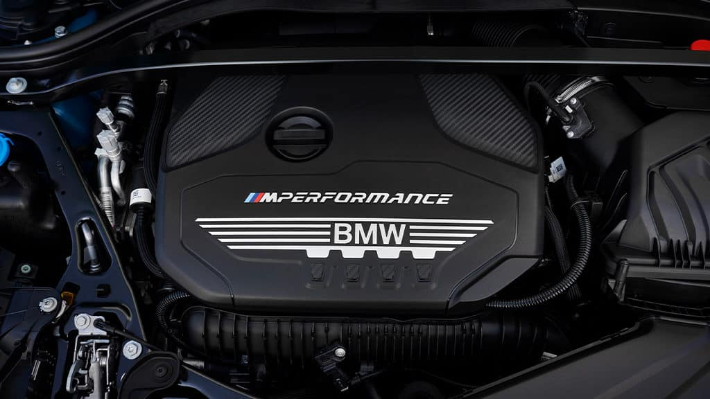 2020 BMW M235i Engine