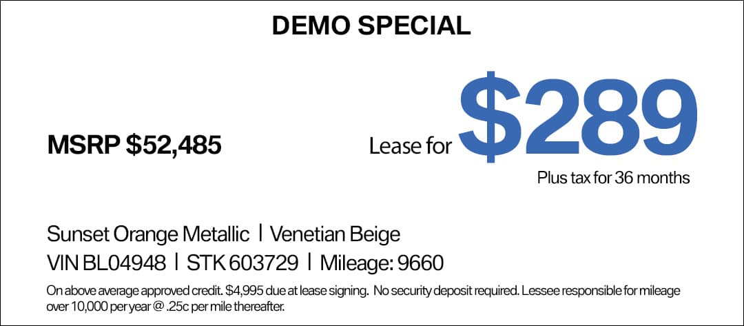 BMW 430 Lease Special