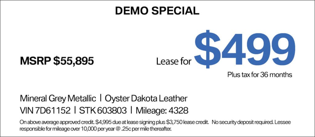 BMW 2 Series Lease Special