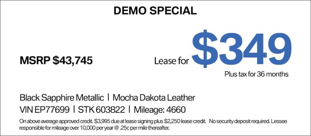 BMW X2 Lease Special