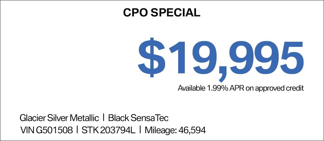 CPO BMW 3 Series Special