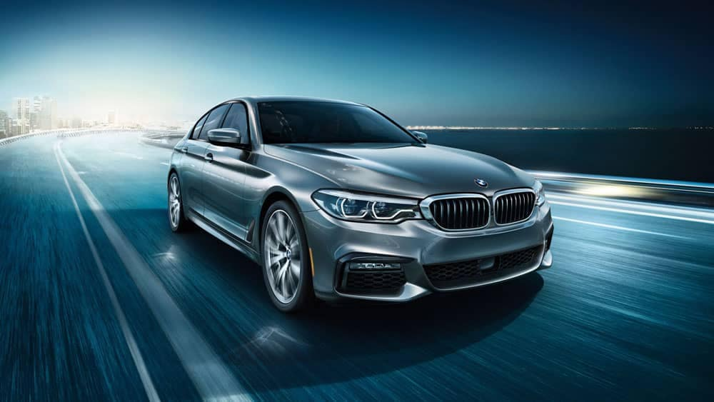 2020 BMW 5 Series Driving