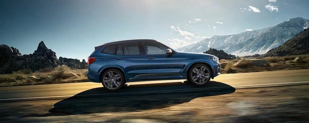 2020 BMW X3 On Open Highway