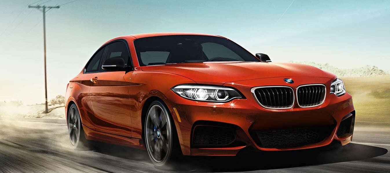 BMW 2 Series on Road