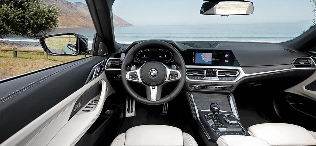 BMW 430i Convertible Interior