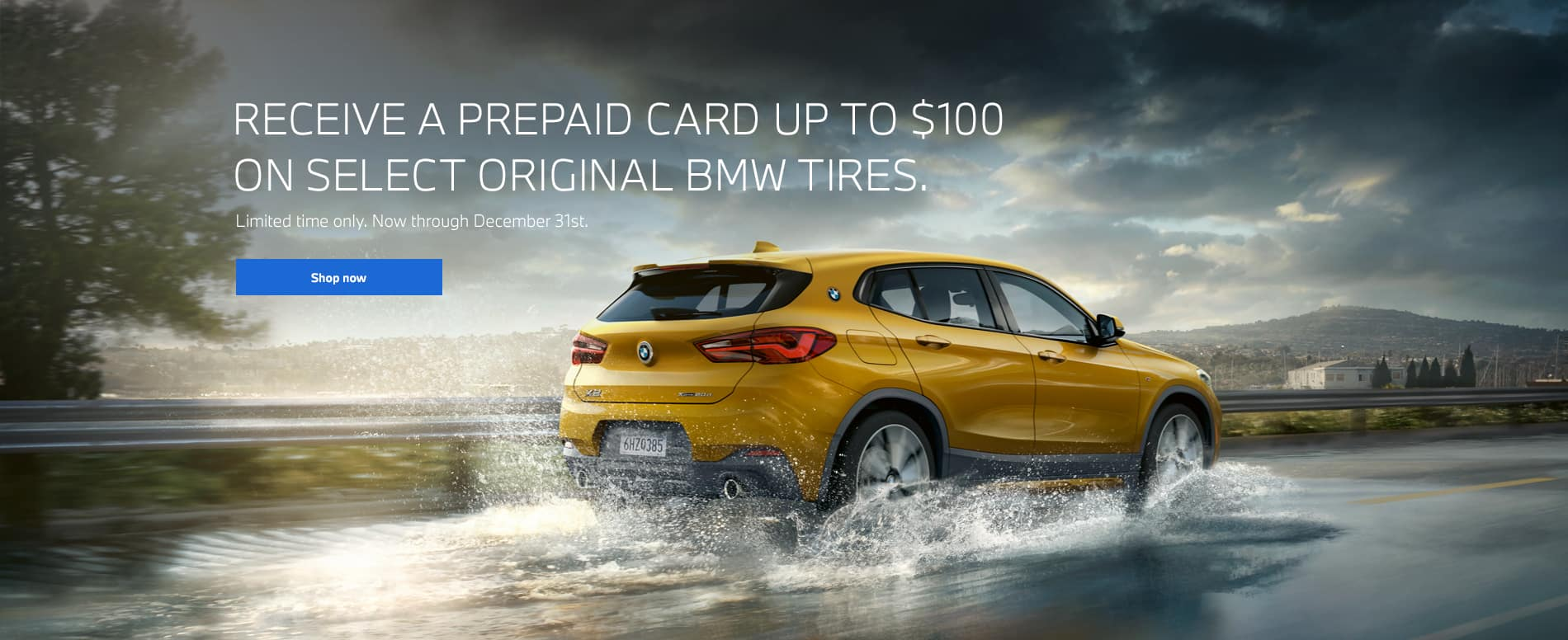 BMW Winter Tire Rebate