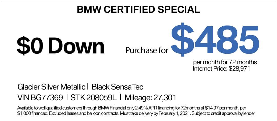 BMW 430i CPO Special
