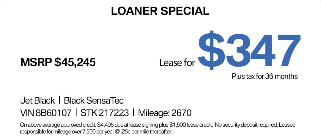 BMW 330i Lease Special