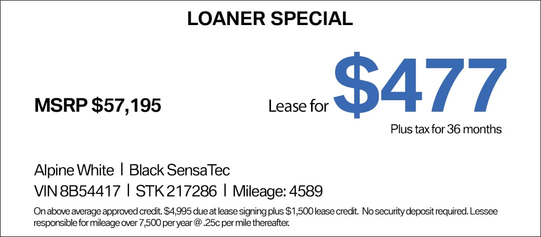 BMW M340i Lease Special