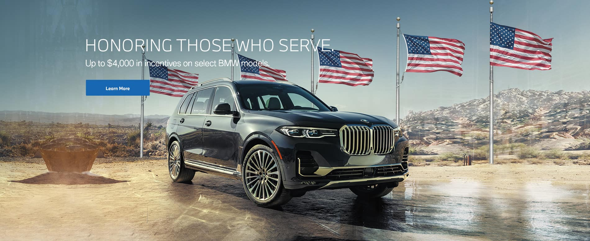BMW Military Incentive