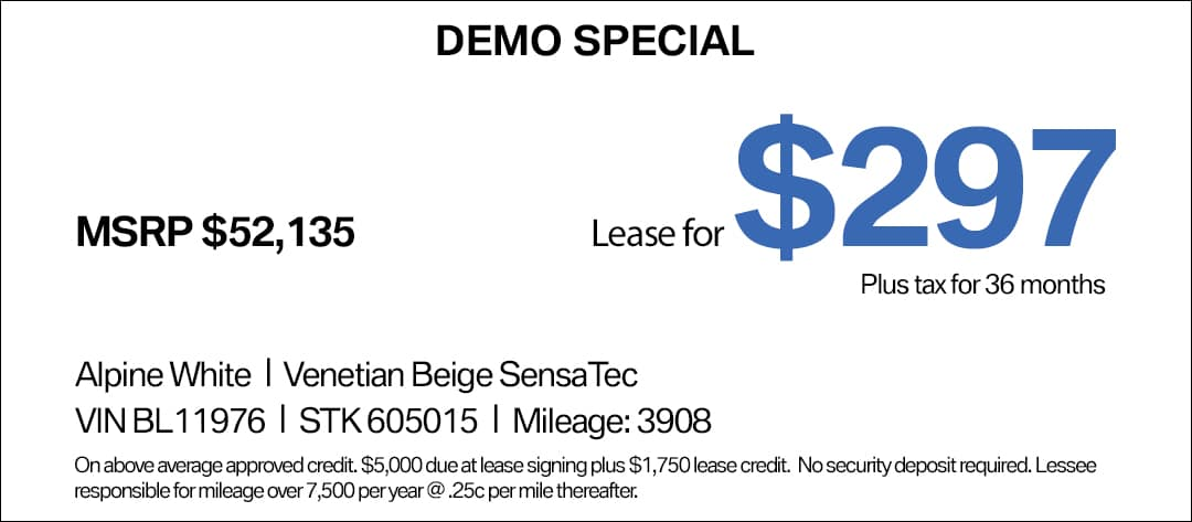 BMW 430i Lease Special