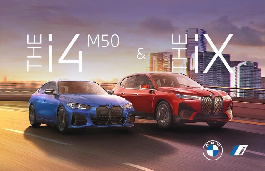 BMW i4 and iX