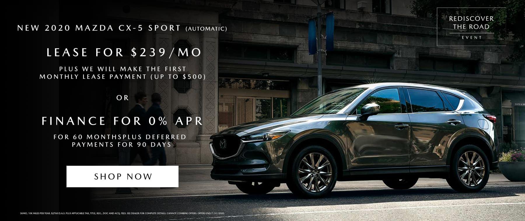 Mazda3 Sedan July Special