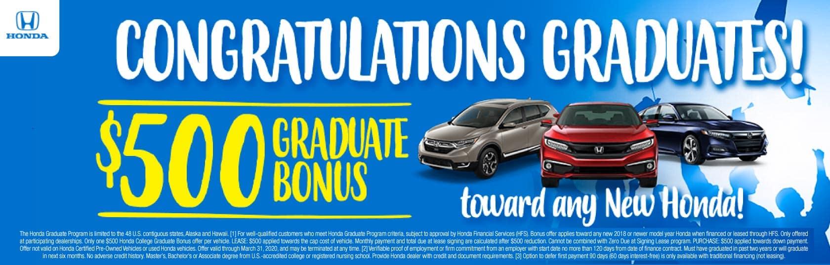 college graduates bonus