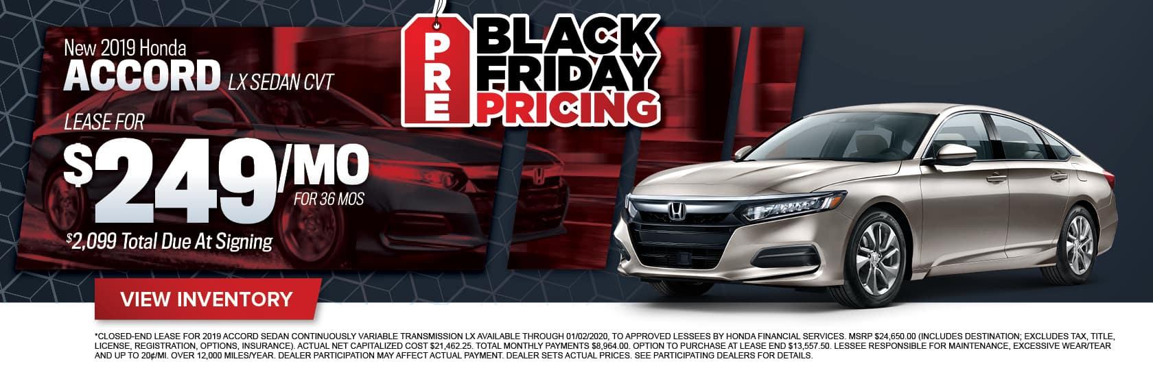 New Honda Accord Sedan for Sale in Midlothian, VA