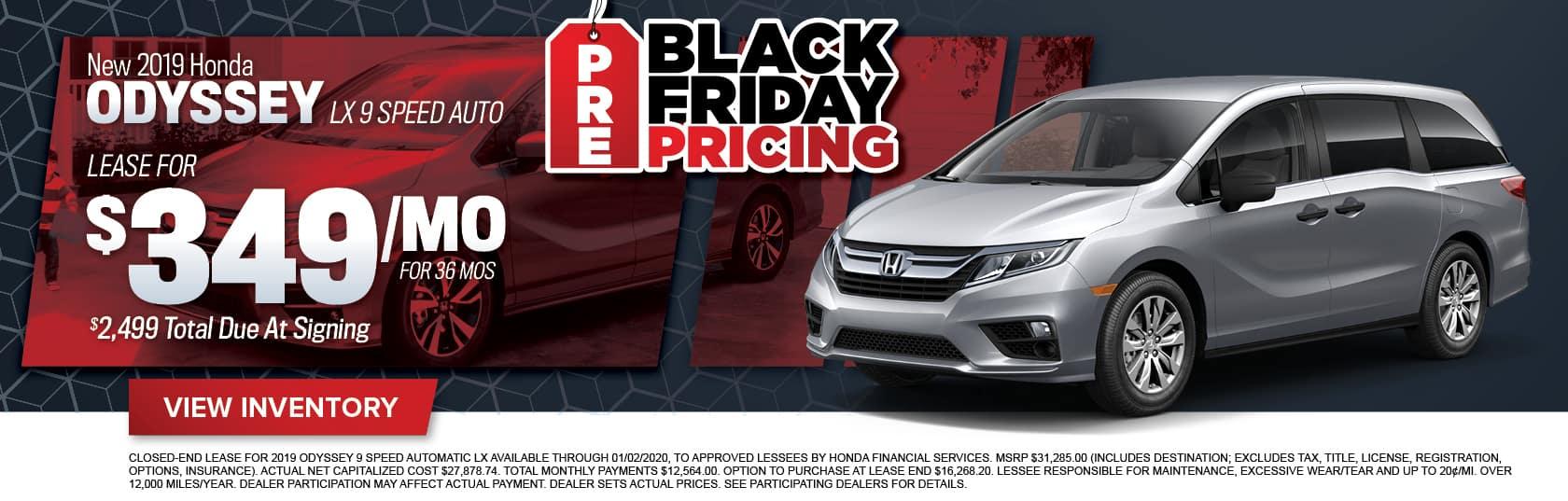 New Honda Odyssey for Sale in Midlothian, VA