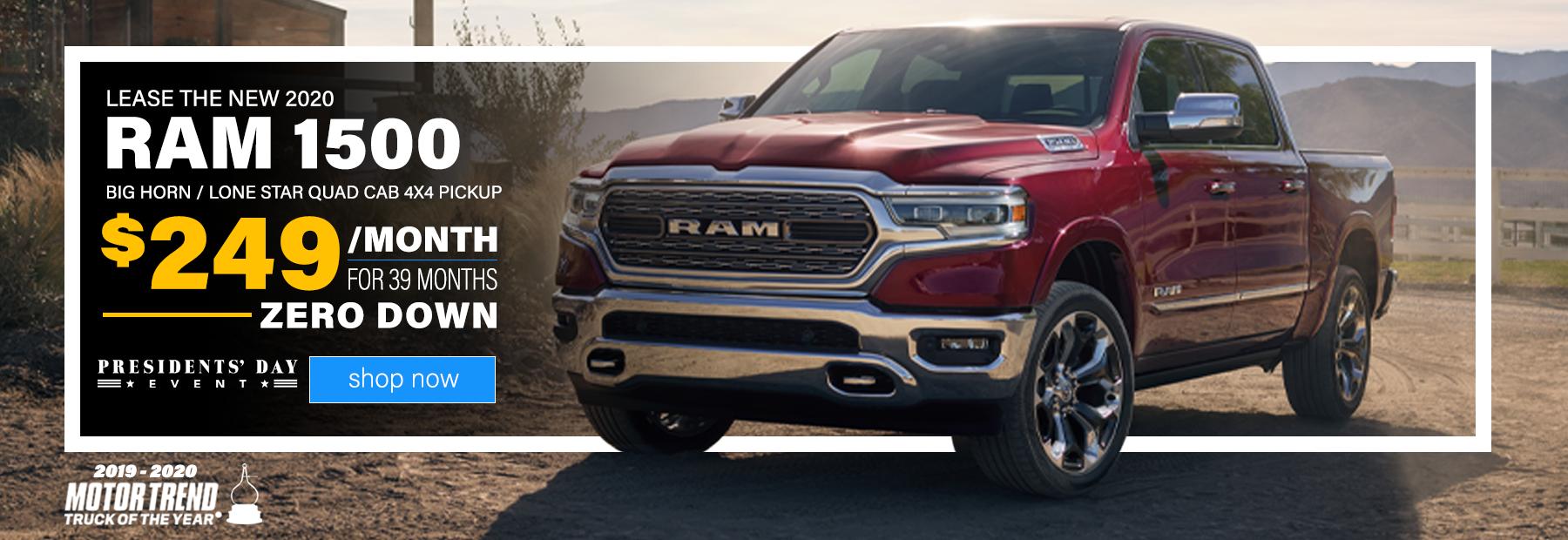 2020-ram-1500-quad-cab-performance-centerville-dayton-ohio