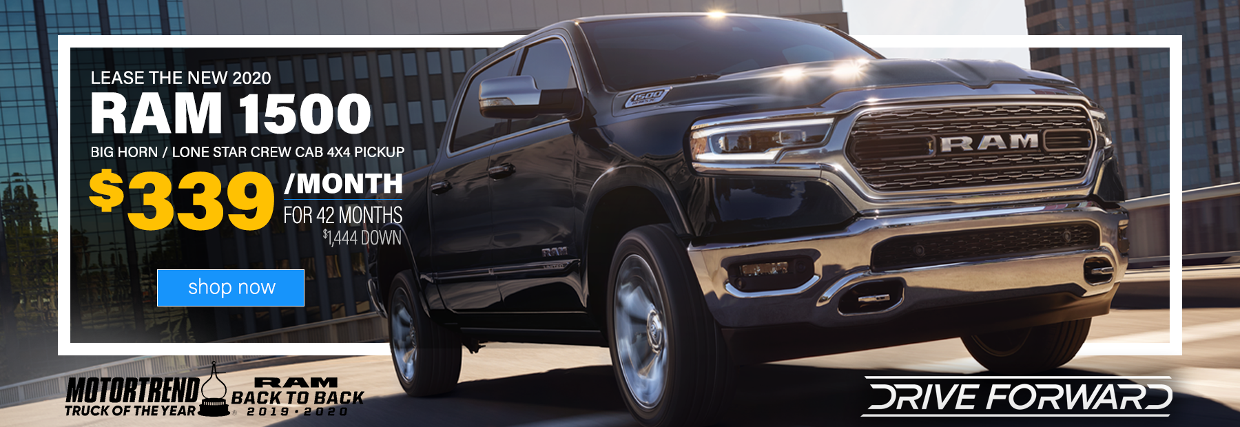 2020 Ram 1500 Crew Cab Lease in Dayton, OH