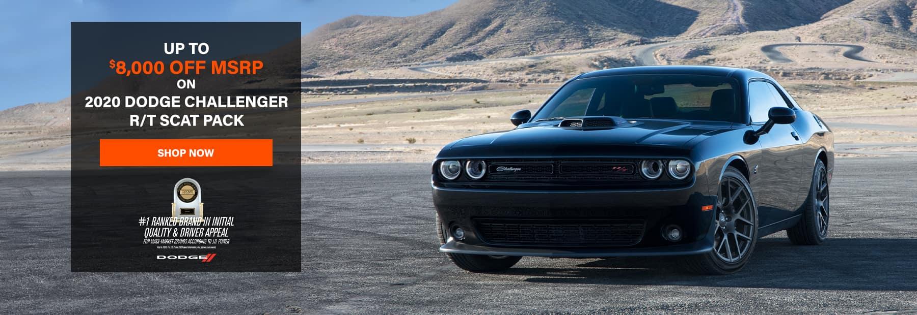 2020 Dodge Challenger R/T Scat Pack - Up to $8,000 OFF MSRP!