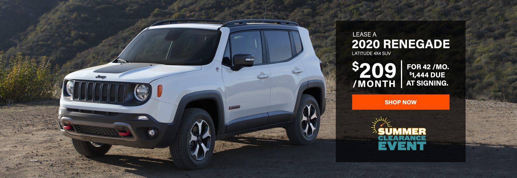 Lease a 2020 Jeep Renegade
