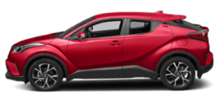2019 toyota c-hr side view