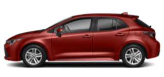 2019-toyota corolla hatchback side view