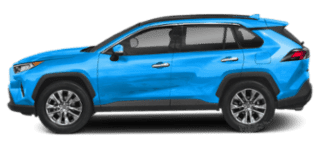 2019 toyota rav4 side view