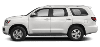 2019 toyota sequoia side view
