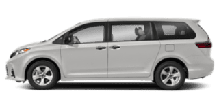 2019 toyota sienna side view