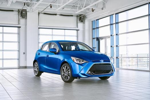 2020 Yaris Hatchback Blue