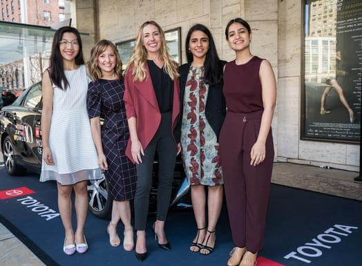 Toyota Celebrates Women at the Women in the World Summit