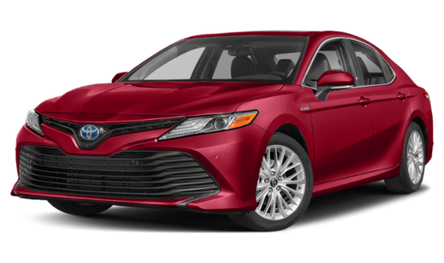 2020 red Toyota Camry image