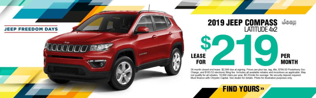 2019 Jeep Compass Lease