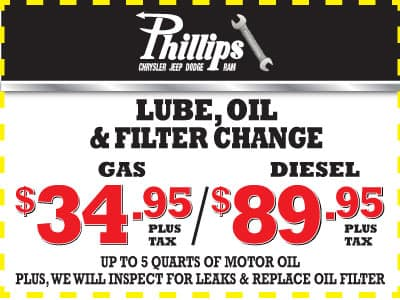 lube oil filter change