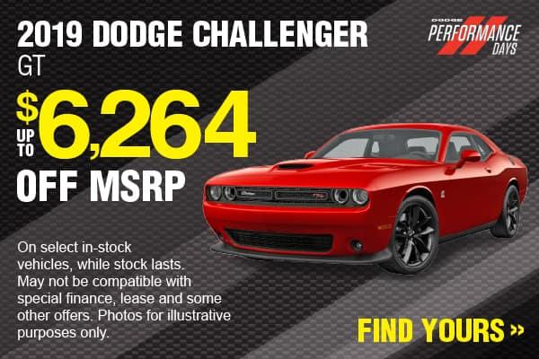2019 Dodge Challenger Savings