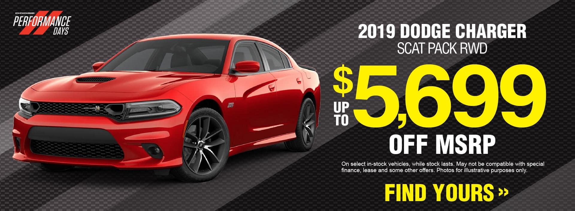 2019 Dodge Charger Savings