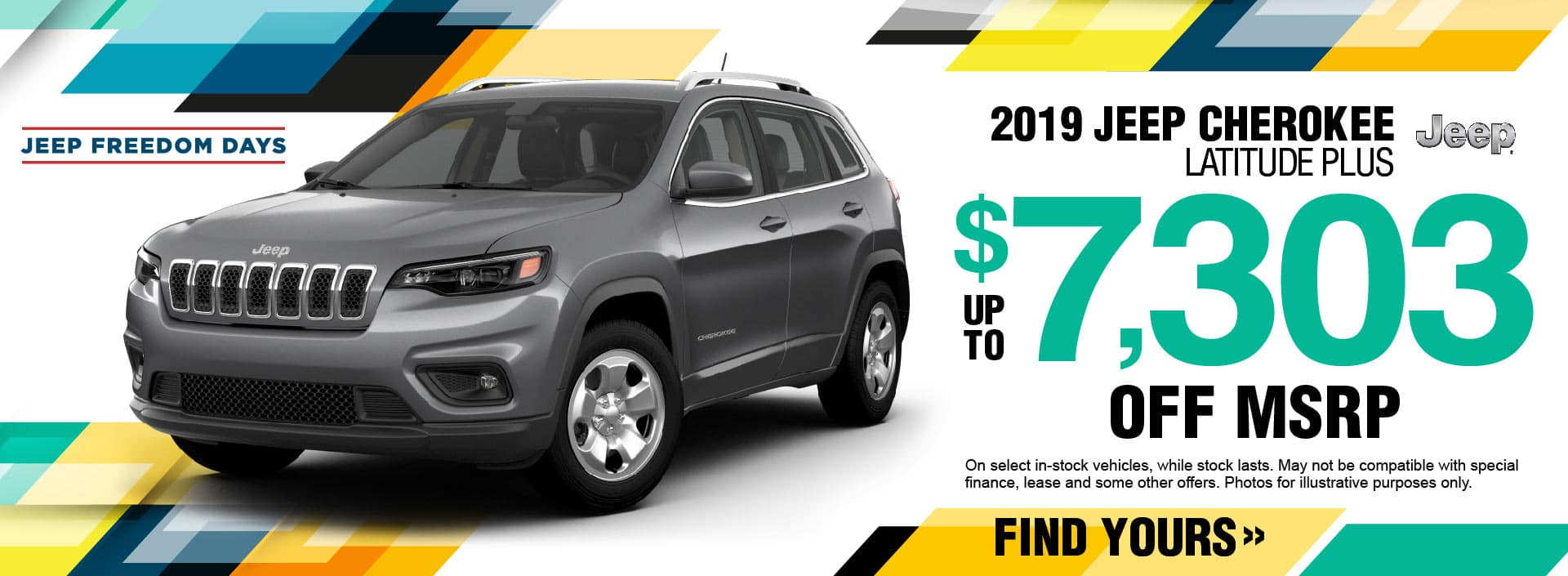 2019 Jeep Cherokee Savings