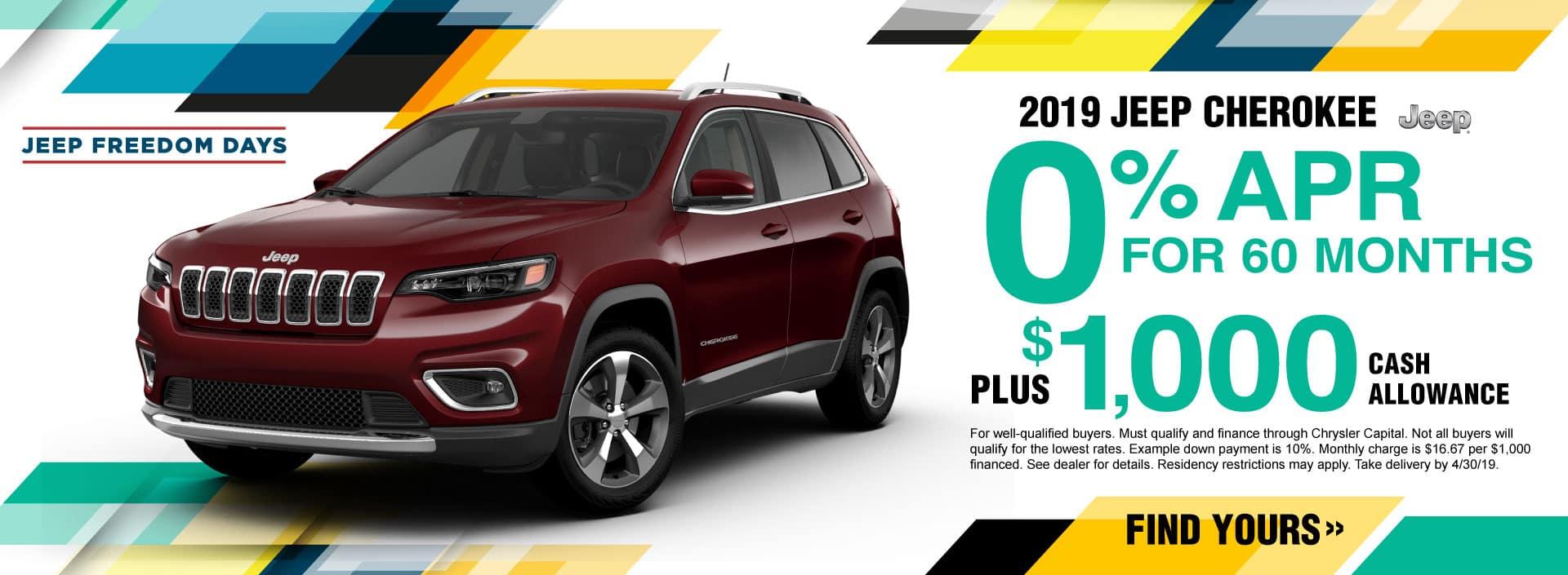 2019 Jeep Cherokee APR