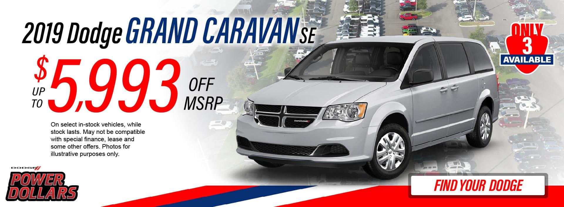 Grand Caravan Savings