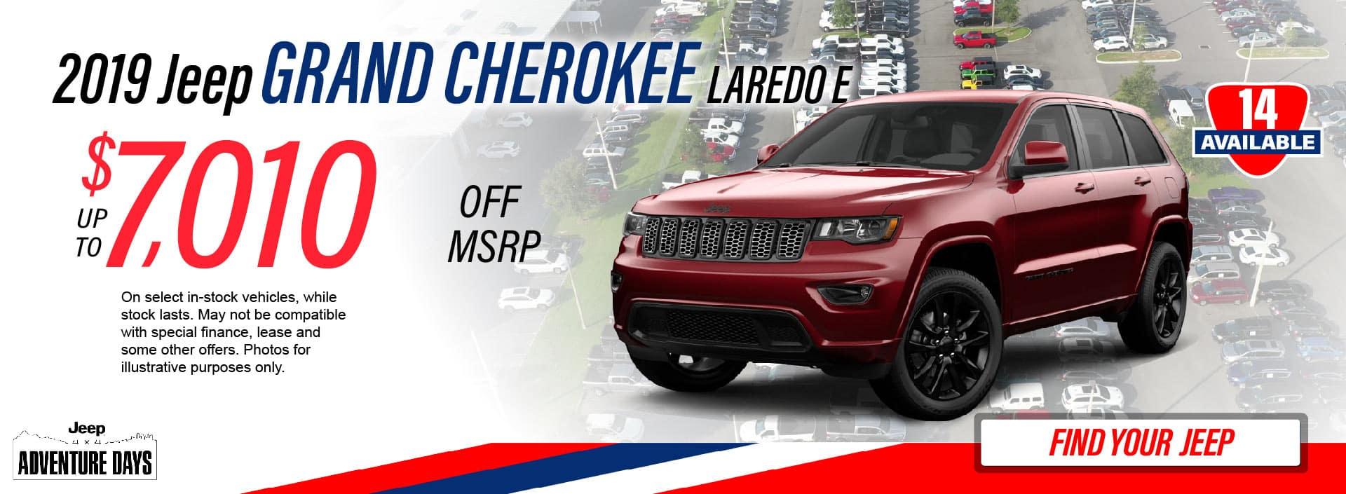 Grand Cherokee Savings
