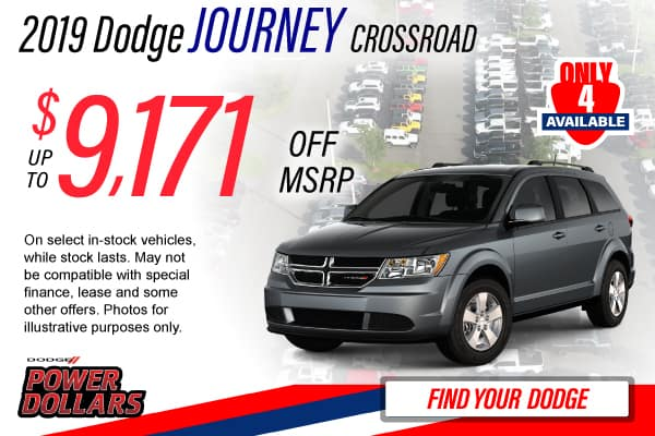 2019 Dodge Journey Lease