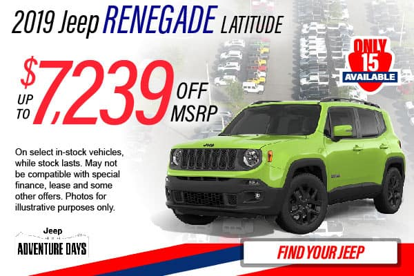 2019 Jeep Renegade Lease